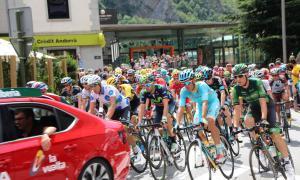 Talls i restriccions de trànsit per l'arribada de la Vuelta els propers dilluns i dimarts