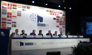 Arrenca a Andorra la sessió de tardor de l'OSCE-PA amb un debat sobre la seguretat i cooperació al Mediterrani