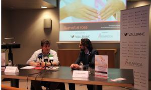 Encesa de llums dels edificis de Vall Banc i parades informatives d'Assandca, principals activitats del Dia mundial contra el càncer de mama