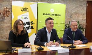 El Carnet Jove estrena nova imatge i avantatges i renova l'acord amb Crèdit Andorrà