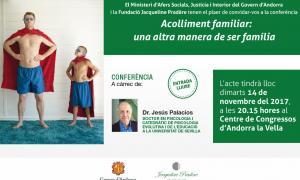 Afers Socials organitza una conferència per difondre els beneficis de l'acolliment familiar