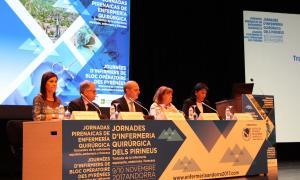 Fins a 200 professionals prenen part en les primeres jornades d'infermeria quirúrgica dels Pirineus