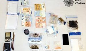La policia deté cinc persones a Escaldes-Engordany per un delicte contra la salut pública