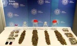 La policia deté un home per venda i possessió de marihuana