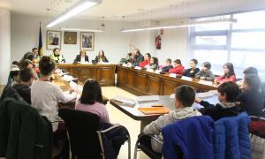 La primera sessió del Consell d'infants del curs 2017-2018 aquest dimarts al matí.