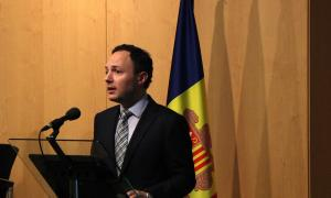 El ministre d'Afers Socials, Justícia i Interior, Xavier Espot.
