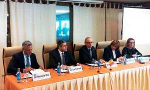 Presentació del Congrés de turisme de neu i de muntanya, aquest dimarts a Madrid.