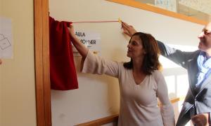 La consellera d'Educació Yolanda Varela.