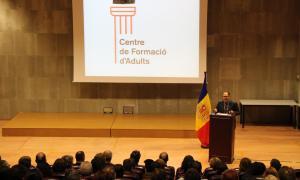 Celebració institucional dels vint anys del Centre de Formació d'Adults, el mes de novembre passat.