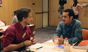 Els participants a la segona fase del projecte LAB Impact Andorra de MoraBanc i Ship2B.