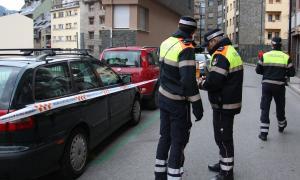 Agents de circulació d'Andorra la Vella.