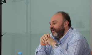 El secretari general de l'USdA, Gabriel Ubach, aquest dilluns.