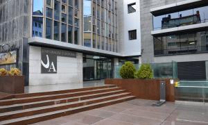 Edifici de la Universitat d'Andorra on s'impartirà el màster en dret.