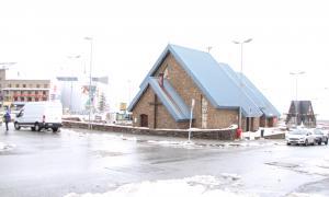 La plaça de l'Església del Pas de la Casa.