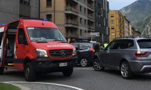 L'accident ha tingut lloc aquest dijous al matí a l'avinguda Tarragona