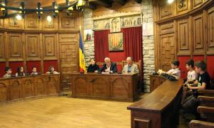 La sessió de cloenda de la desena edició del Consell d'infants.