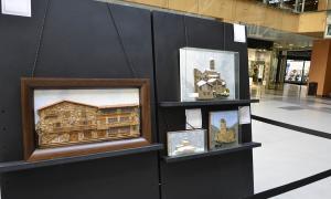 L'exposició de Francesc Barberà.