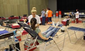 Donacions de sang al Prat del Roure.