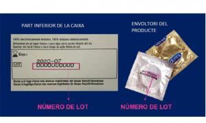 Explicació per identificar els productes afectats.