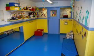 Una imatge d'una escola bressol.