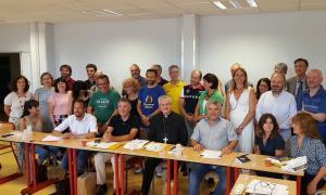 L'Arquebisbe d'Urgell i Copríncep d'Andorra, Joan-Enric Vives, a la Universitat Catalana d'Estiu