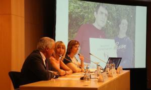Un moment de la conferència impartida aquest dimarts al migdia per l'especialista Marije Goikoetxea.