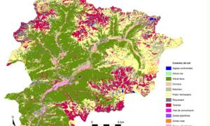 Creix el percentatge de zona boscosa, però també augmenten les zones urbanes i vies de comunicació
