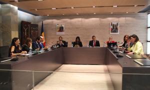 Un moment del consell de comú d'Ordino d'aquest dijous.