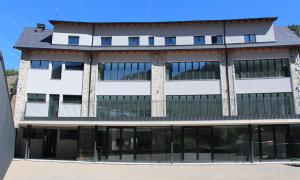 Una imatge del nou edifici sociocultural d'Ordino.