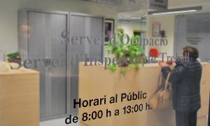 Oficina del Servei d'Ocupació.