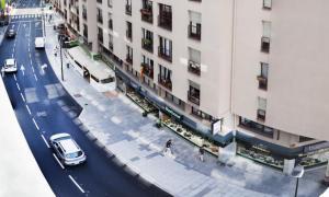 Una imatge del carrer Bonaventura Armengol.