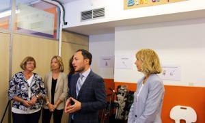 Inauguració del Banc de Productes de Suport a l'escola especialitzada Nostra Senyora de Meritxell.