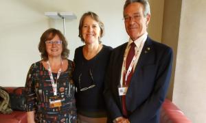 Reunió mantinguda amb la cap del secretariat del Conveni marc pel Control del Tabac de l'OMS, Vera Luiza Da Costa e Silva.