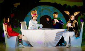 Una imatge del musical de la companyia 'Viu el teatre'.