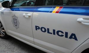 Un vehicle policial.