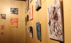 Algunes de les obres realitzades per l'artista francesa.