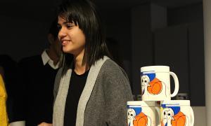 La guanyadora, Bruna Araújo, i la tassa.
