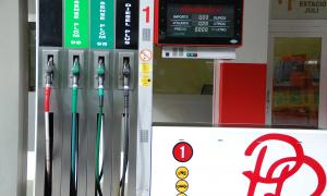 Un sortidor de carburant.