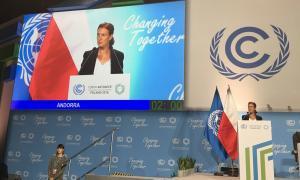 Intervenció de la ministra d'Agricultura i Medi Ambient, Sílvia Calvó, en la reunió de la Xarxa Iberoamericana d'Oficines del Canvi Climàtic.