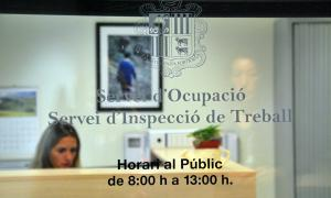 Una imatge de les oficines del Servei d'Ocupació.