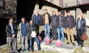 Els guanyadors de la cinquena edició del concurs de prats florits.