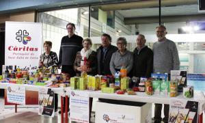 Càritas ja gaudeix dels aliments recollits per Sant Julià durant el Nadal