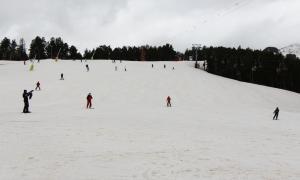 Esquiadors a Pal.