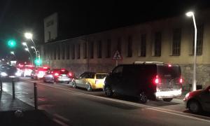 El tall del túnel de la Tàpia, a Sant Julià de Lòria, va convertir el centre de la vila en un caos circulatori.