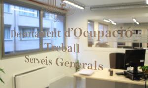 Les oficines del departament d'Ocupació del Govern.