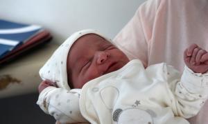 Un recent nascut.