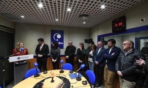 Artadi visita l'arquebisbe d'Urgell i copríncep d'Andorra