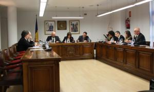 Un moment del consell de comú celebrat aquest dimarts a Escaldes-Engordany.