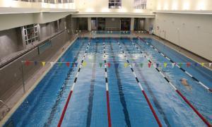 La piscina comunal d'Escaldes-Engordany.