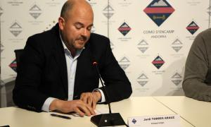 El cònsol major d'Encamp, Jordi Torres.
